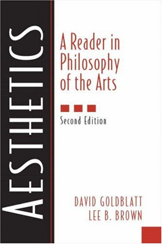 9780131121447: Aesthetics:a Reader in Philosophy of the Arts: Reader Philosophy of Arts