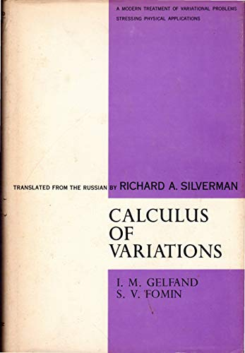 9780131122925: Calculus of Variations (Selected Russian publications in the mathematical sciences)