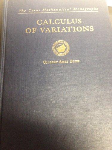 9780131122925: Calculus of Variations