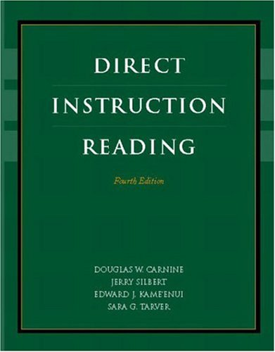9780131123083: Direct Instruction Reading