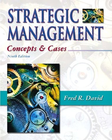 9780131123724: Strategic Management: Concepts and Cases (International Edition)