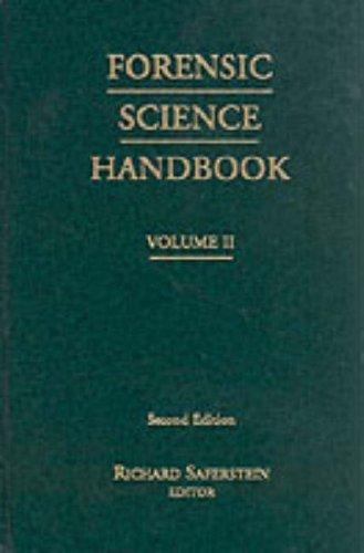 Forensic Science Handbook, Vol. II (2nd Edition): Saferstein, Richard