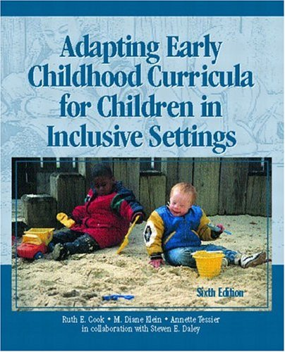9780131124882: Adapting Early Childhood Curricula for Children in Inclusive Settings (6th Edition)