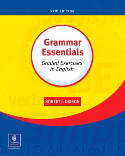 9780131126961: Grammar Essentials: Graded Exercises in English