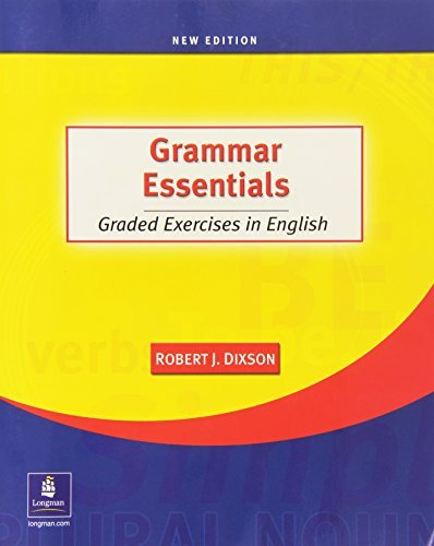 9780131126961: Grammar Essentials: Graded Exercises in English, New Edition