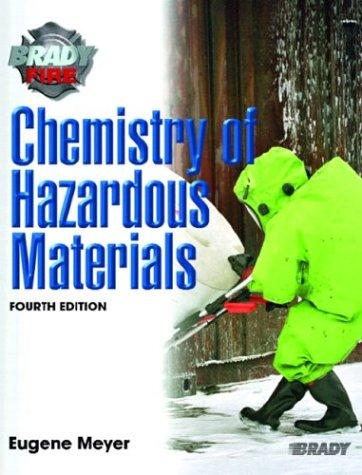 9780131127609: Chemistry of Hazardous Materials (4th Edition)
