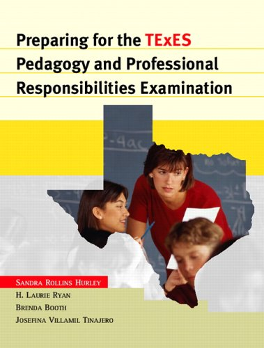 9780131128033: Preparing for the TExES Pedagogy and Professional Responsibilities Examination