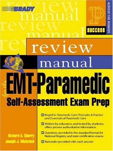 9780131128699: EMT-Paramedic: Review Manual: Self-assessment Exam Prep (Success Across the Boards)