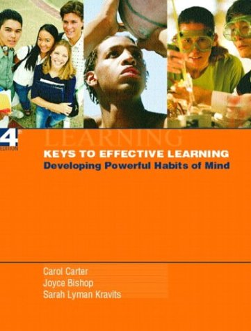 9780131131125: Keys to Effective Learning: Developing Powerful Habits of Mind (4th Edition)