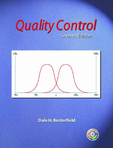 9780131131279: Quality Control (7th Edition)
