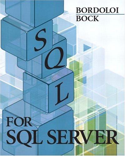 9780131132993: SQL for SQL Server