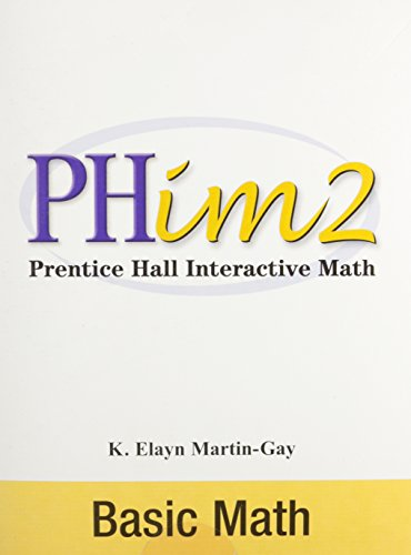 9780131133785: Prentice Hall Interactive Math 2: Basic Math, Second Edition