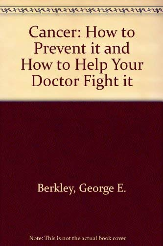 Cancer (A Spectrum book): GEORGE E. BERKLEY