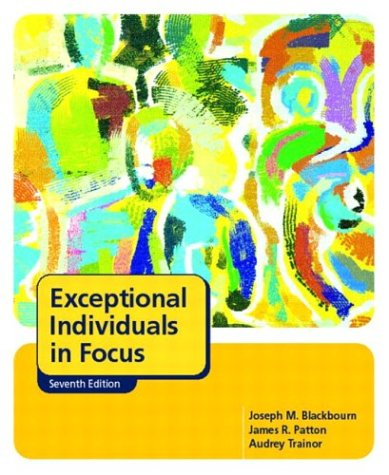 9780131134911: Exceptional Individuals in Focus (7th Edition)