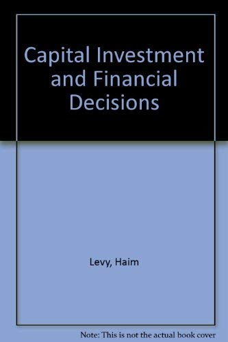 9780131136052: Capital Investment and Financial Decisions