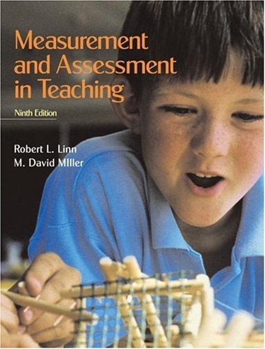 9780131137721: Measurement and Assessment in Teaching (9th Edition)