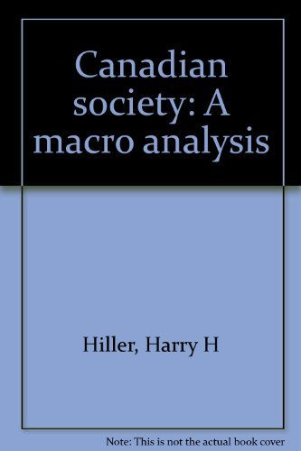 9780131138384: Canadian society: A macro analysis