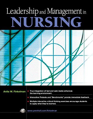 9780131138698: Leadership and Management in Nursing