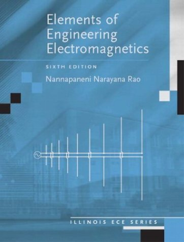 9780131139619: Elements of Engineering Electromagnetics (6th Edition)