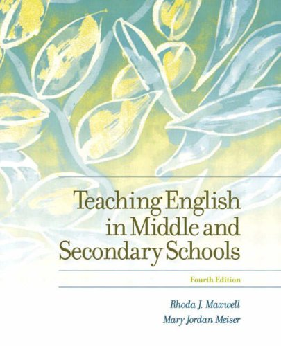 9780131140073: Teaching English in Middle and Secondary Schools (4th Edition)