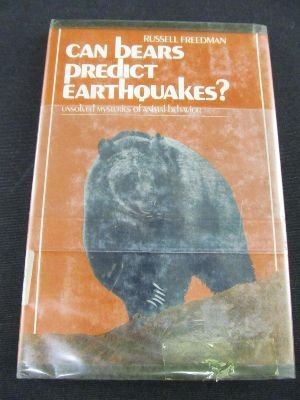 9780131140097: Can Bears Predict Earthquakes?: Unsolved Mysteries of Animal Behavior