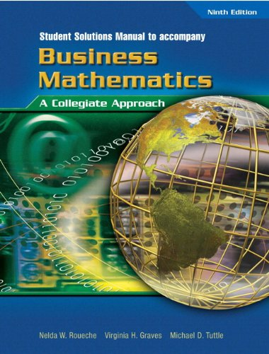 9780131140226: Student Solutions Manual