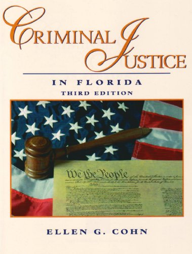 9780131140288: Criminal Justice in Florida (3rd Edition)