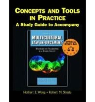 9780131140523: Supplement: Concepts and Tools in Practice: A Study Guide - Multicultural Law Enforcement: Strategie