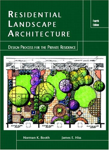 9780131140646: Residential Landscape Architecture: Design Process for the Private Residence (4th Edition)