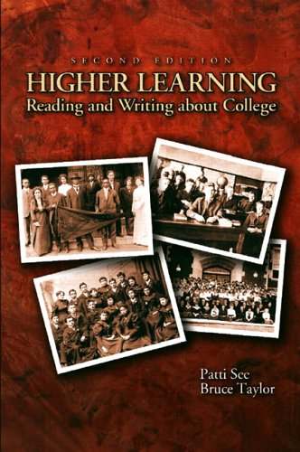 9780131141636: Higher Learning: Reading and Writing About College (2nd Edition)