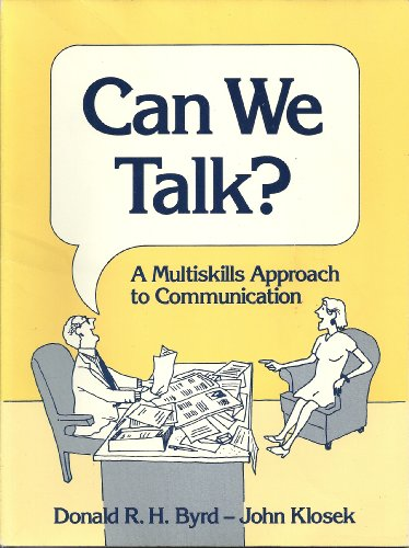 9780131141667: Can We Talk?: A Multiskills Approach to Communication