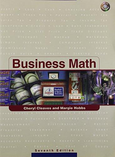 9780131142831: Business Math