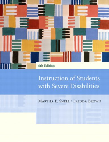 9780131143357: Instruction of Students with Severe Disabilities (6th Edition)