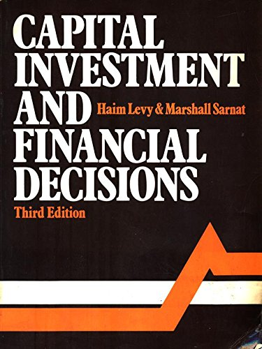 9780131143647: Capital Investment and Financial Decisions