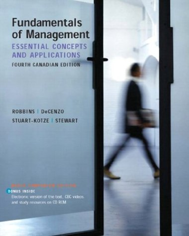 9780131143913: Fundamentals of Management
