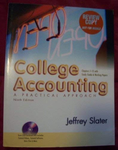 9780131144385: Review Copy 1-12 with Study Guide and Working Papers