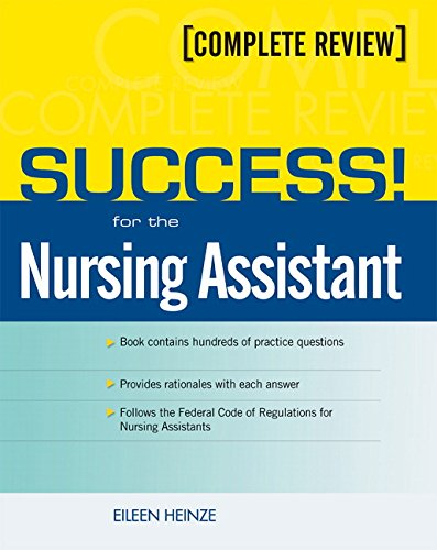 9780131144941: SUCCESS! for the Nursing Assistant: A Complete Review