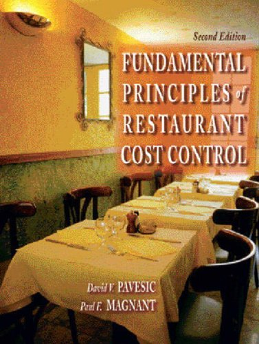 9780131145320: The Fundamental Principles of Restaurant Cost Control