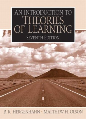9780131147225: An Introduction to Theories of Learning (7th Edition)