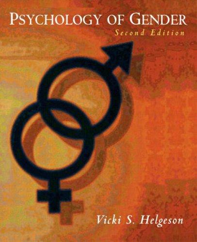 9780131147263: Psychology of Gender (2nd Edition)