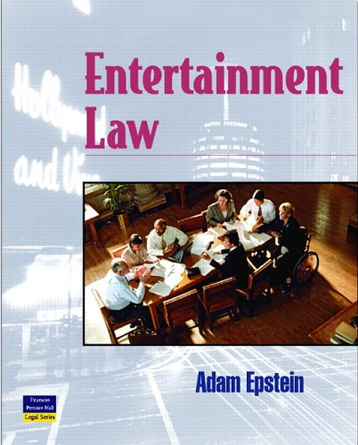 Entertainment Law: Epstein, Adam