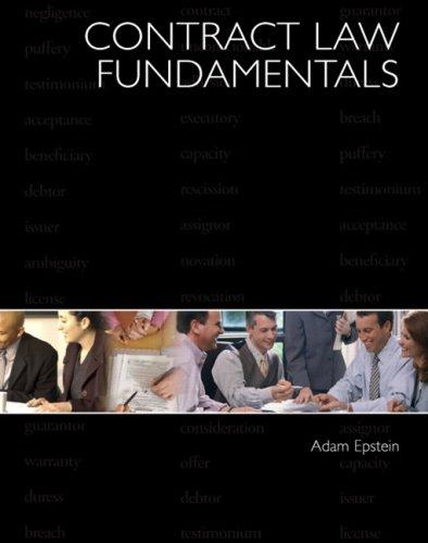 9780131147485: Contract Law Fundamentals