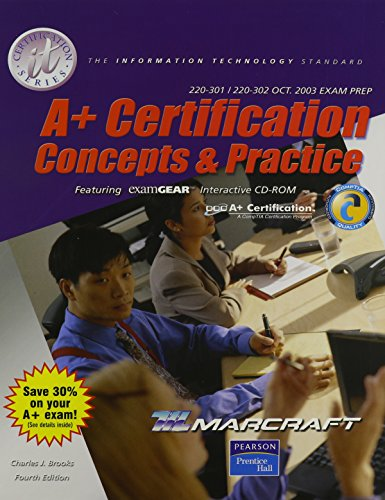 9780131147720: A+ Certification: Concepts and Practice Stand Alone Text (It Certification)