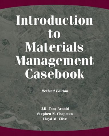 9780131148482: Introduction to Materials Management Casebook, Revised Edition (2nd Edition)