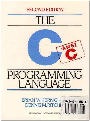 9780131148697: C Programming Language: AND