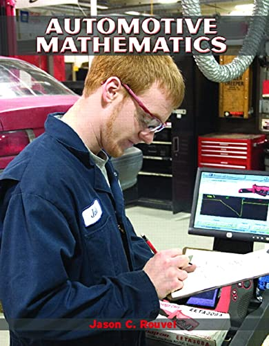 9780131148734: Automotive Mathematics (Pearson Automotive)