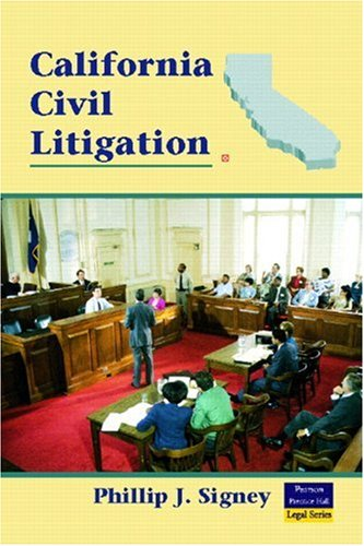 9780131148758: California Civil Litigation (2nd Edition)