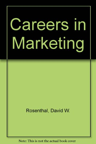 9780131149274: Careers in Marketing
