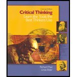9780131149632: Critical Thinking- Learn the Tools the Best Thinkers Use,Concise Edition by Paul,Richard; Elder,Linda. [2005] Paperback