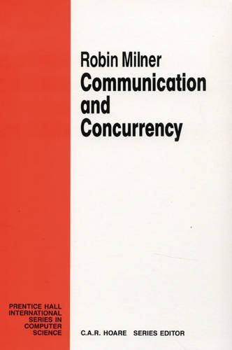 9780131150072: Communication and Concurrency (Prentice Hall International Series in Computer Science)